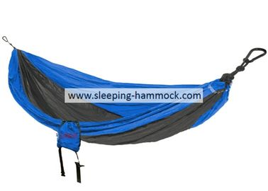 Anti Fade Double Sleeping Hammock Made From Parachute Material  , Portable Backpack Hammock