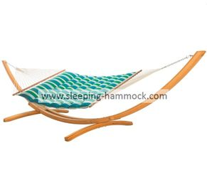 55 Inch Double Wide Pillow Top Hammocks With Stand Tropic Wave Spreader Bar