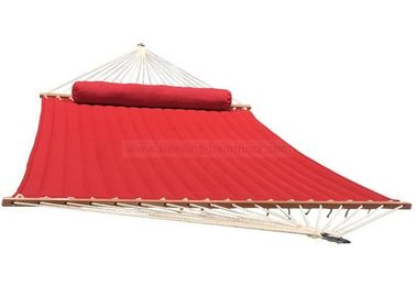 Red Double Olefin Hammock With Stand Replacement  , 13  - 15 Foot 2 Person Hammock Bed