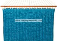 Backyard Tree Roman Arc Prime Garden Hammock Quilted Fabric Two Person Light Blue
