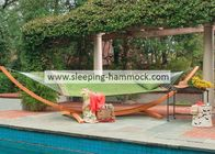 Decorative Mold Resistant  Olefin Hammock  , Outdoor Patio Garden Hammock On Frame