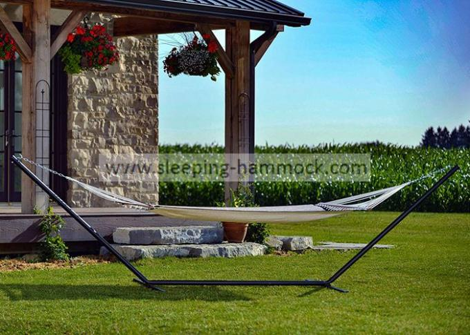 Camping Beach Hammock Foldable Steel Hammock Stand Bronze , Hammock Holders Metal